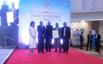 skoch financial inclusion award 2015